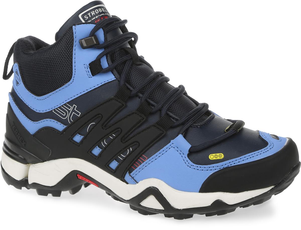 Ботинки женские Strobbs, цвет: синий, голубой. F8146-2. Размер 37F8146-2Стильные женские ботинки Strobbs, выполненные в спортивном стиле, прекрасно подойдут для активного отдыха и повседневной носки. Верх изготовлен из микрофибры и синтетической кожи. Подкладка из искусственного меха не даст ногам замерзнуть. Удобная шнуровка надежно зафиксирует модель на стопе. Подошва обеспечит легкость и естественную свободу движений. Модель маломерит на 1 размер. В таких ботинках вашим ногам будет тепло и комфортно.