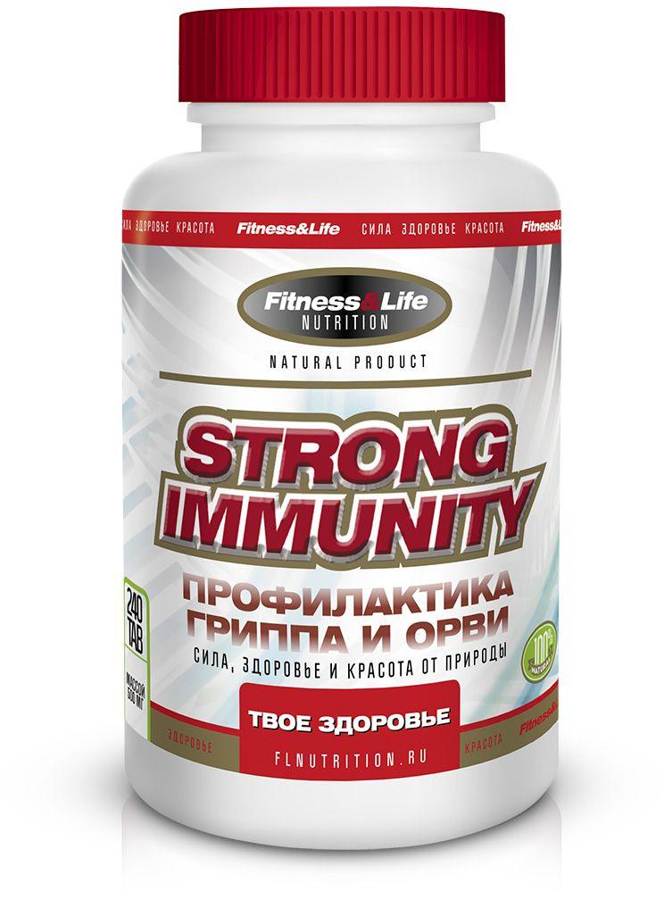 Пищевая добавка Fitness&Life Stronglmmunity, 240 таблеток4605920001210Strong Immunity - комплекс на основе трутневого расплода и витамина D3. Спортсмены очень часто подвержены простудным заболеваниям, особенно в крупных городах, где солнечной активности очень мало и в связи с этим возникают эпидемии гриппа. Любая простуда становится преградой для полноценной подготовки к соревнованиям. Strong Immunity снижает риск заболеваемости в несколько раз.Ингредиенты, мг/табл: Биологически активная добавка Гомогенат трутневый с витамином В6 100,0 Витамин D3 (субстанция с активностью 100000 МЕ/г) 3,0 Пиридоксина гидрохлорид (витамин В6) 0,8.Товар не является лекарственным средством. Товар не рекомендован для лиц младше 18 лет. Могут быть противопоказания и следует предварительно проконсультироваться со специалистом.