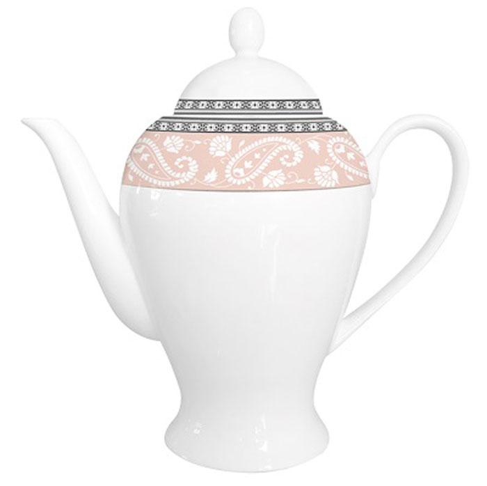 Чайник заварочный Esprado Arista Rose, 920 млARRL92RE306Чайник заварочный Esprado Arista Rose изготовлен из высококачественного костяного фарфора с глазурованным покрытием, которое обеспечивает легкую очистку. Изделие прекрасно подходит для заваривания вкусного и ароматного чая, а также травяных настоев. Оригинальный дизайн сделает чайник настоящим украшением стола. Он удобен в использовании и понравится каждому.