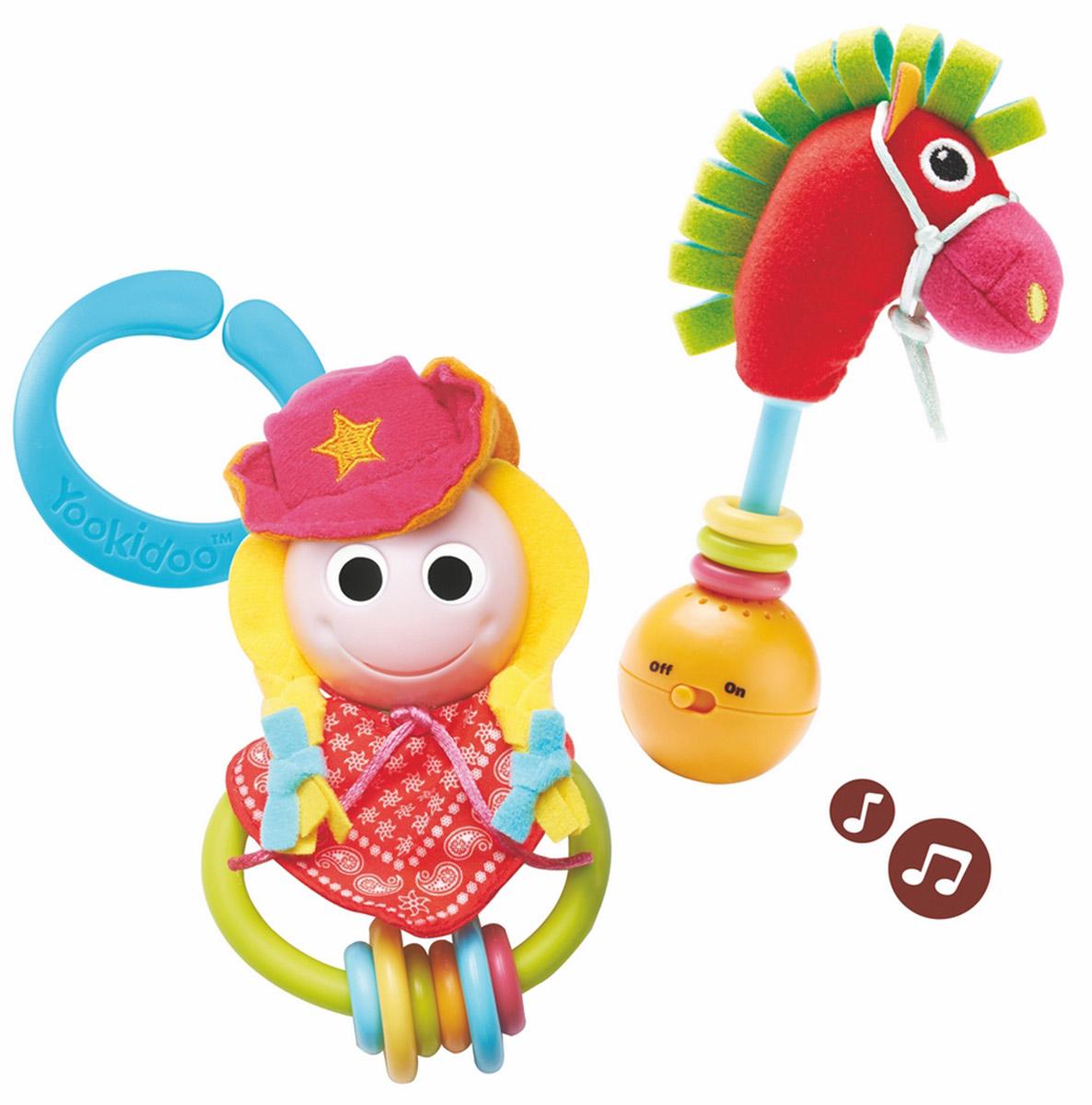 Yookidoo Игровой набор Ковбойша и ее лошадка игровой набор yookidoo пират и его попугай