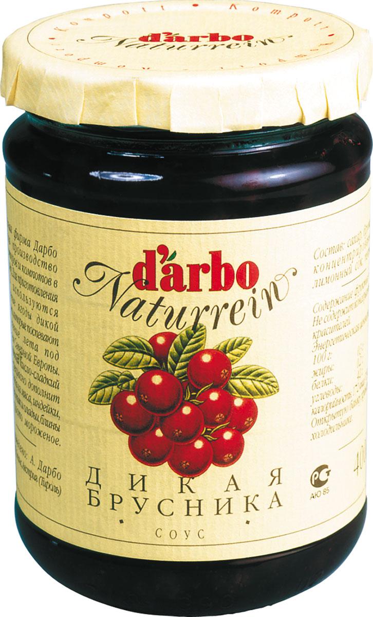 Darbo соус дикая брусника, 400 г соус d arbo брусника