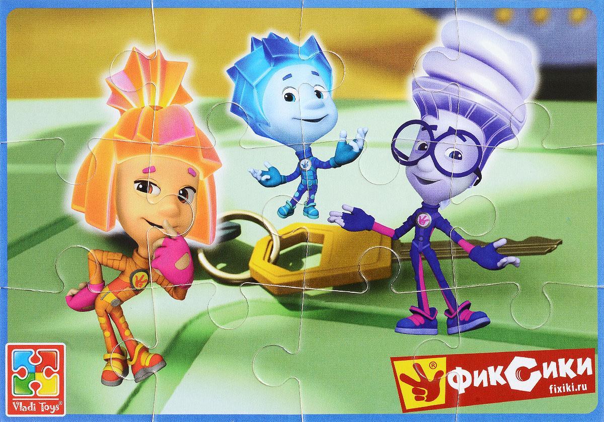 Vladi Toys Пазл для малышей Фиксики Игрек Нолик и Симка фиксики настольная игра поле пазл тыдыщь в подарок мини пазл 20 элементов фиксики