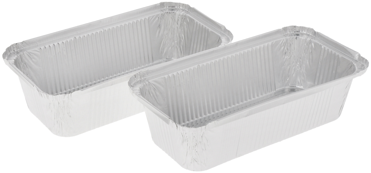 Форма для выпечки Paterra, прямоугольная, 22 х 11 х 6 см, 2 шт щипцы кулинарные paterra цвет малиновый серебристый длина 22 см