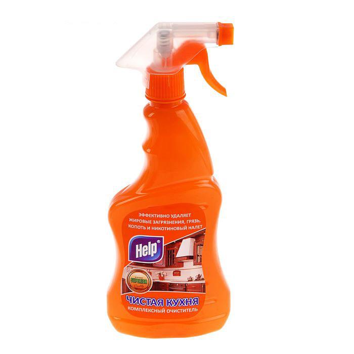 Чистящее средство Help Чистая кухня, 500 мл средство чистящее techpoint powerclean для очистки плит и духовых шкафов 500 мл