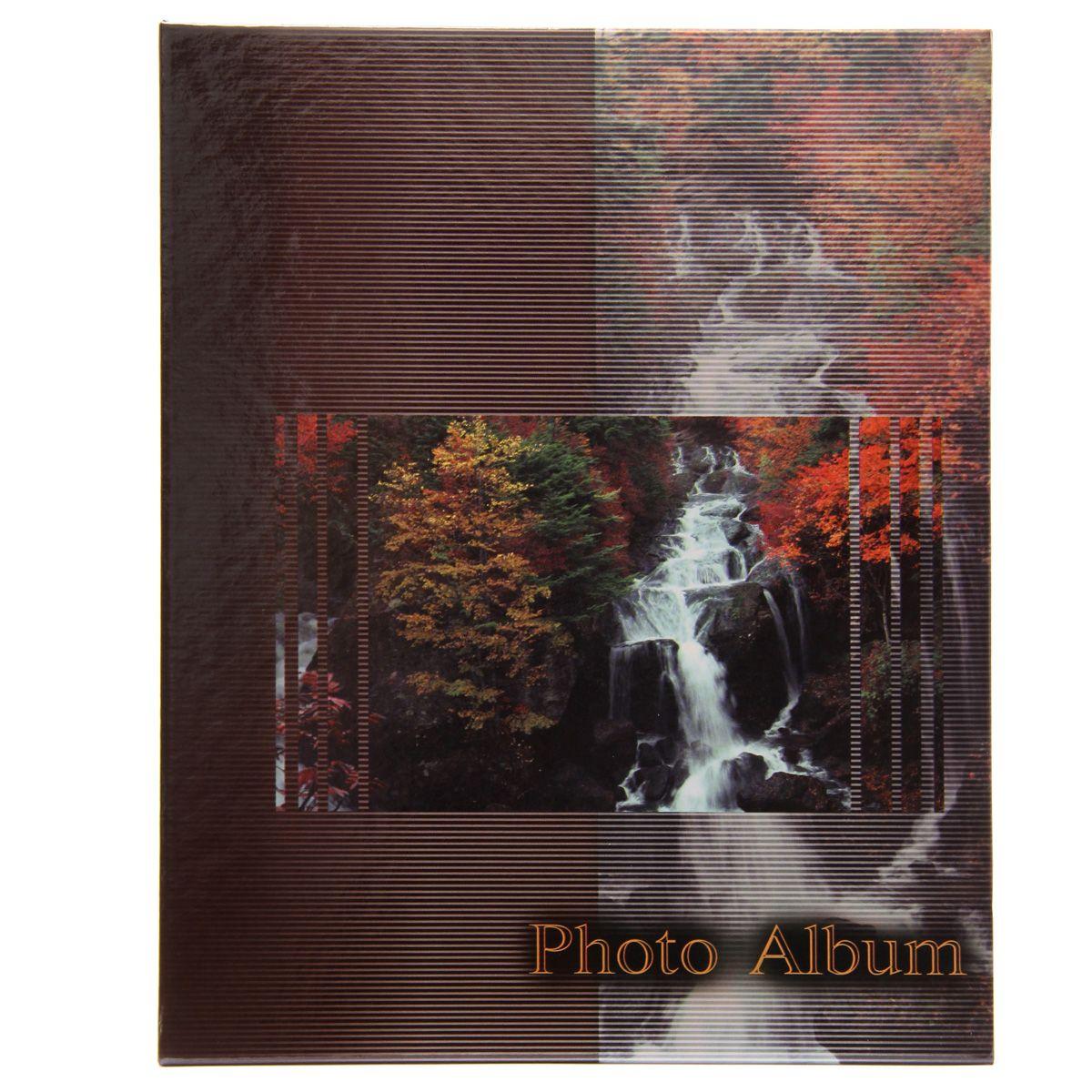 Фотоальбом Pioneer Waterfalls, 200 фотографий, 10 х 15 см , цвет: бордовыйТР 5044Фотоальбом Pioneer Waterfalls поможет красиво оформить ваши самые интересные фотографии. Обложка из толстого картона оформлена оригинальным принтом. Фотоальбом рассчитан на 200 фотографий форматом 10 x 15 см.Внутри содержится блок из 50 листов с окошками из полипропилена, одна страница оформлена двумя окошками для фотографий. Такойнеобычный фотоальбом позволит легко заполнить страницы вашей истории, и с годами ничего не забудется. Тип обложки: картон. Тип листов: полипропиленовые. Тип переплета: высокочастотная сварка.Материалы, использованные в изготовлении альбома, обеспечивают высокое качество хранения ваших фотографий, поэтому фотографии нежелтеют со временем.