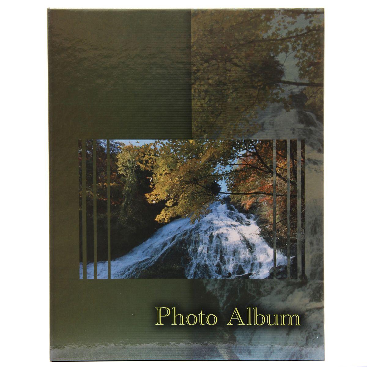 Фотоальбом Pioneer Waterfalls, 200 фотографий, 10 х 15 см, цвет: зеленый46529 AV46200Фотоальбом Pioneer Waterfalls поможет красиво оформить ваши самые интересныефотографии. Обложка из толстого картона оформлена оригинальным принтом. Фотоальбом рассчитан на 200 фотографий форматом 10 x 15 см. Внутри содержится блок из 50 листов с окошками из полипропилена, одна страница оформлена двумя окошками для фотографий. Такой необычный фотоальбом позволит легко заполнить страницы вашей истории, и с годами ничего не забудется.Тип обложки: картон.Тип листов: полипропиленовые.Тип переплета: высокочастотная сварка. Материалы, использованные в изготовлении альбома, обеспечивают высокое качество хранения ваших фотографий, поэтому фотографии не желтеют со временем.