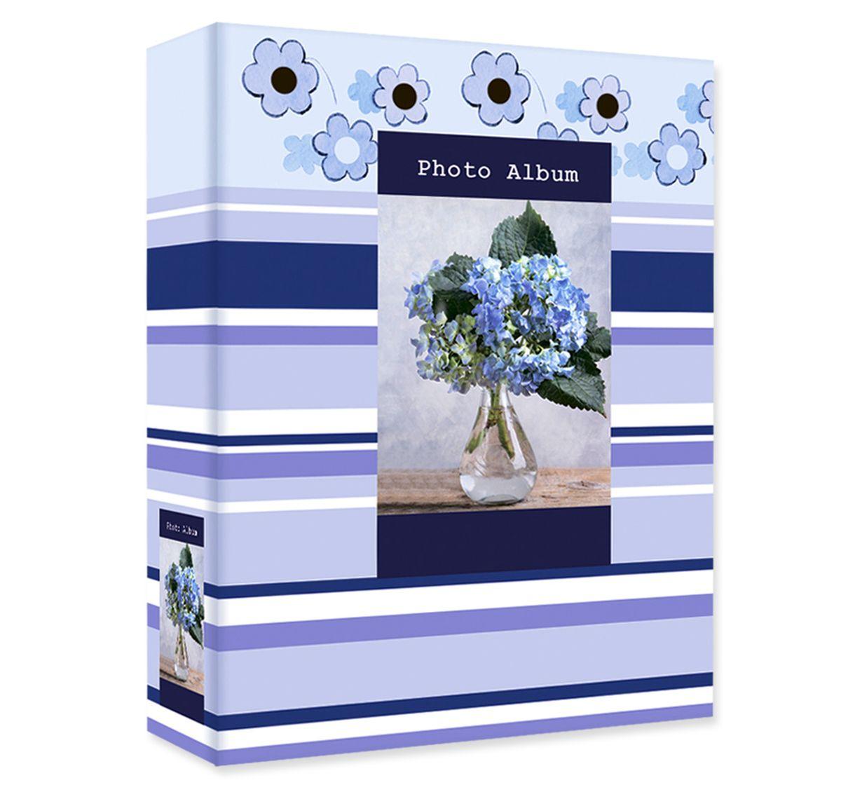 Фотоальбом Pioneer Early Spring, 100 фотографий, 10 х 15 см, цвет: голубой фотоальбом platinum классика 240 фотографий 10 x 15 см