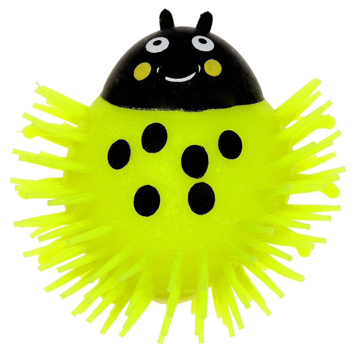 1TOY Игрушка-антистресс Ё-Ёжик Жук цвет желтый 1toy игрушка антистресс ё ёжик животное цвет бежевый