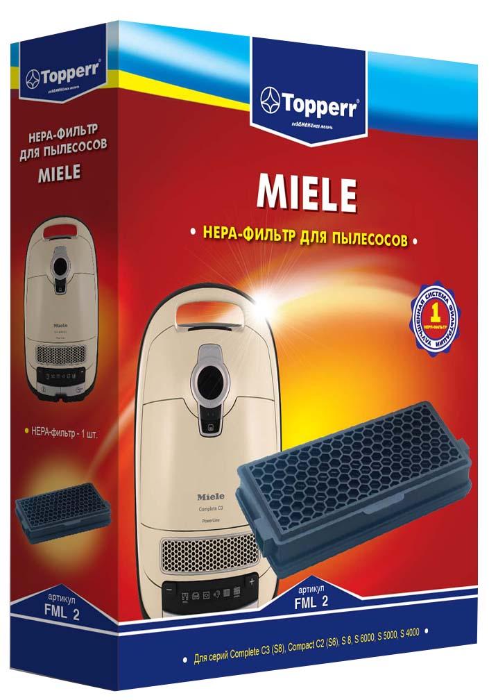 Topperr FML 2 HEPA-фильтр для пылесосов Miele