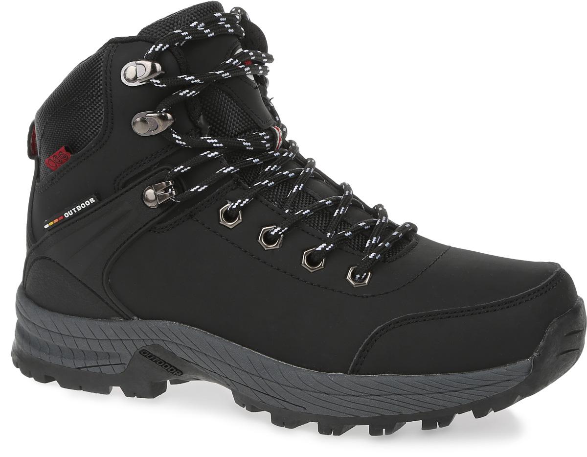 Ботинки женские Strobbs, цвет: черный. F8174-3. Размер 36F8174-3Стильные женские ботинки Strobbs, выполненные в спортивном стиле, прекрасно подойдут для активного отдыха и повседневной носки. Верх из микрофибры и подкладка из искусственного меха не дадут ногам замерзнуть. Удобная шнуровка надежно зафиксирует модель на стопе. Резиновая подошва с крупным протектором обеспечит хорошее сцепление с любой поверхностью. Модель маломерит на 1 размер. В таких ботинках вашим ногам будет тепло и комфортно.