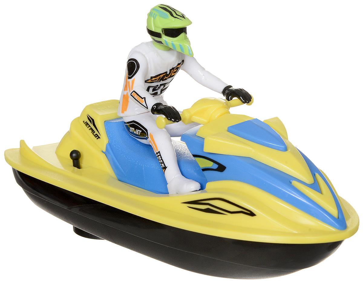 Dickie Toys Водный мотоцикл Sea Jet цвет желтый белый skylanders superchargers интерактивная фигурка машина jet stream