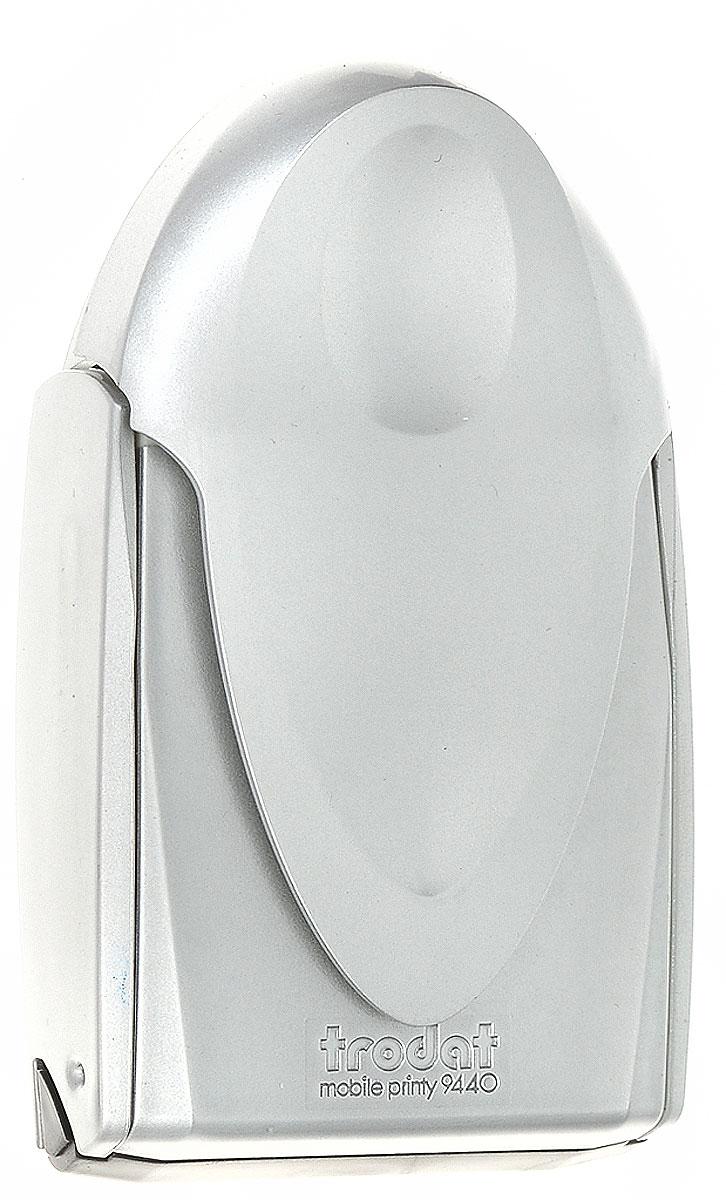 Trodat Карманная оснастка для круглой печати и штампа Mobile Printy 40 мм цвет серый