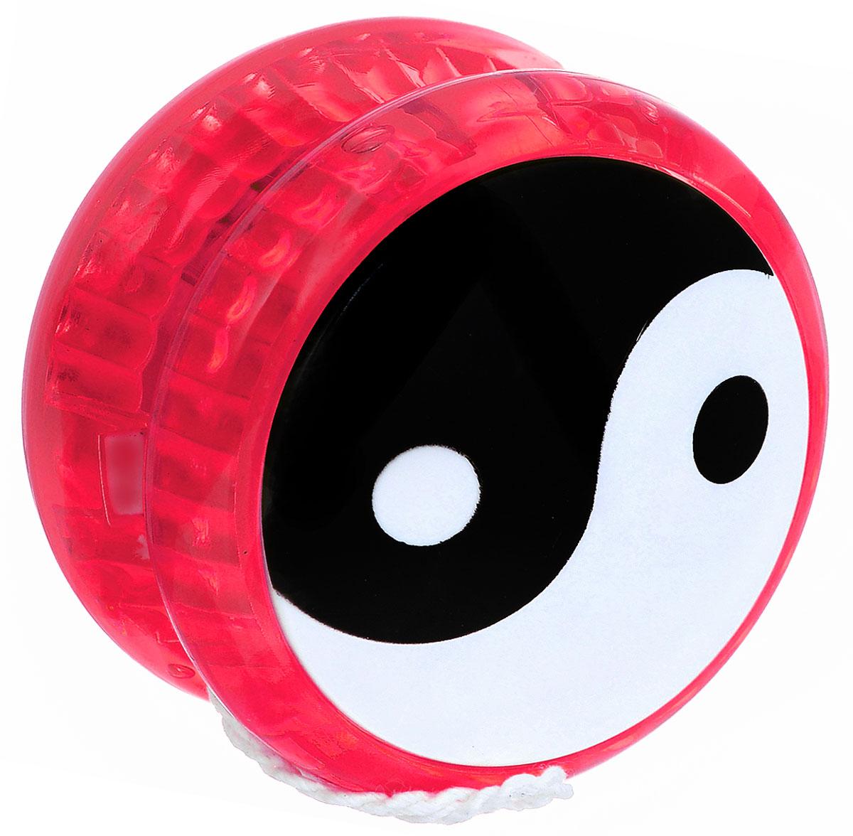 Эврика Йо-йо Инь-Ян цвет красный игрушка йо йо 1 toy на палец