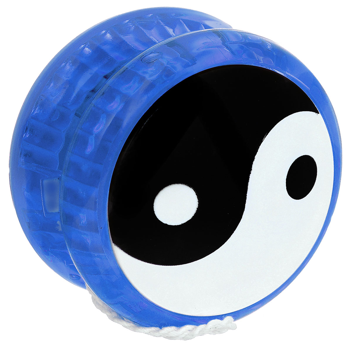 Эврика Йо-йо Инь-Ян цвет синий игрушка йо йо 1 toy на палец
