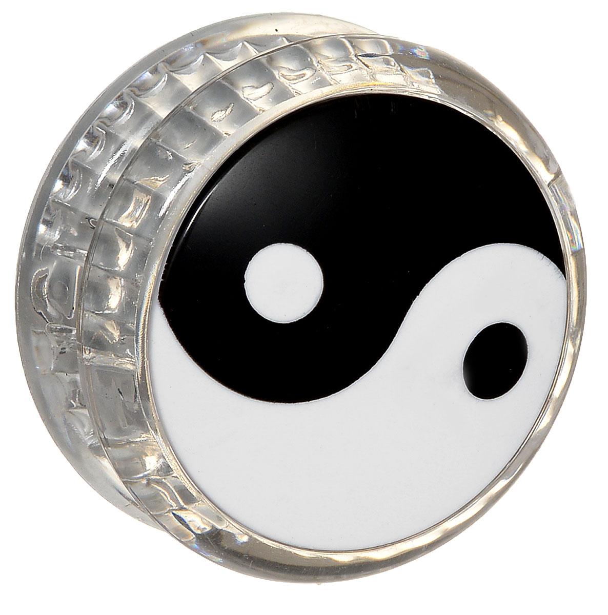 Эврика Йо-йо Инь-Ян цвет прозрачный игрушка йо йо 1 toy на палец