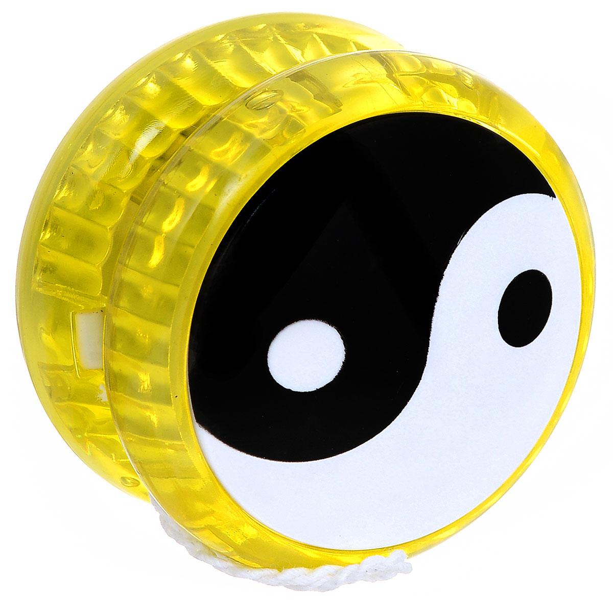 Эврика Йо-йо Инь-Ян цвет желтый игрушка йо йо 1 toy на палец