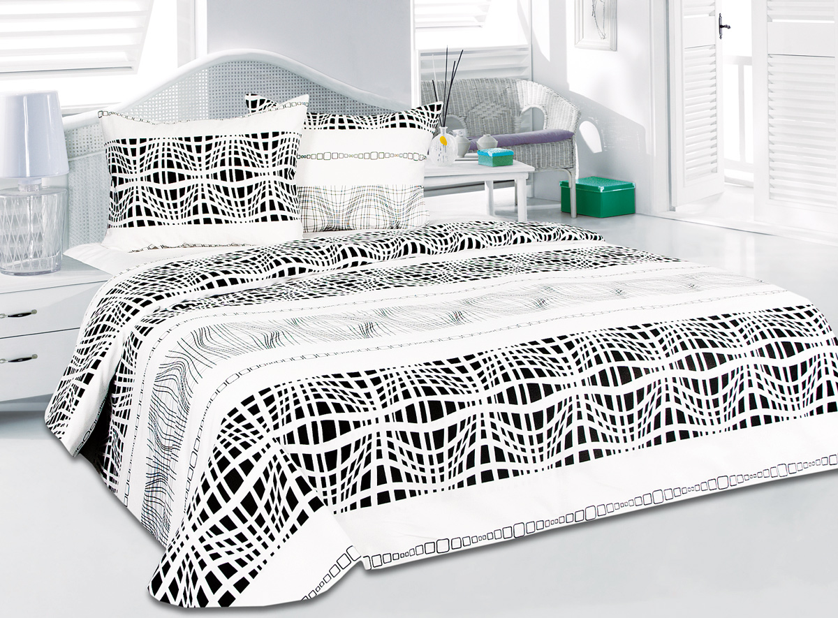 Комплект белья Tete-a-Tete Никс, 1,5-спальный, наволочки 50x70 магазин электроники никс