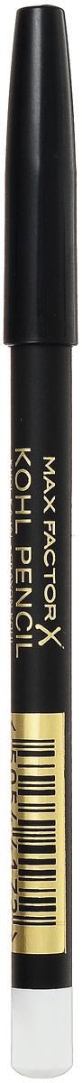 Max Factor Карандаш для глаз Kohl Pencil, тон №010 White, цвет: белый81480564Карандаш Kohl Pencil - твое секретное оружие для супер-сексуального взгляда. - Ультра-мягкий карандаш нежно касается века. - Достаточно плотный, чтобы рисовать тонкие линии. - Растушуй линию, чтобы добиться стильного неряшливого эффекта. Идеален для создания сексуального эффекта смоки айз.Протестировано офтальмологами и дерматологами. Подходит для чувствительных глаз и тех, кто носит контактные линзы.1. Смотри вниз и осторожно растяни глаз указательным пальцем. 2. Проведи аккуратную мягкую линию вдоль роста ресниц. 3. Карандаша Kohl pencil в сочетании с тушью будет достаточно, чтобы выделить глаза. 4. Наноси карандаш над тенями для более мягкого образа или под тенями, чтобы углубить их цвет. 5. Растушуй линию с помощью ватной палочки для эффекта смоки айз.