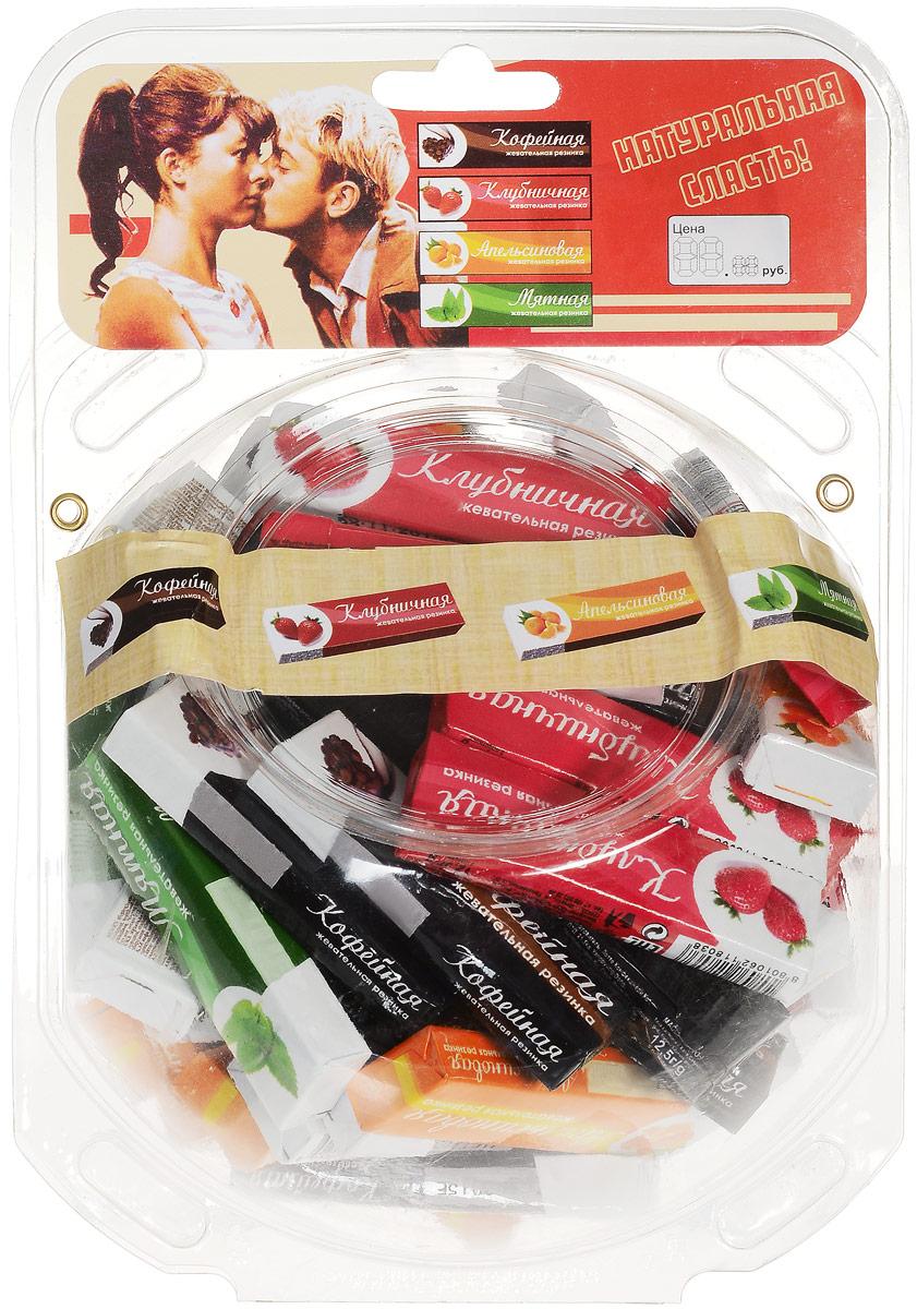 Plastinki жевательная резинка Ассорти 4 вкуса, 60 пачек по 5 пластинок (сфера) rondo клубника и мята освежающие конфеты 14 пачек по 30 г