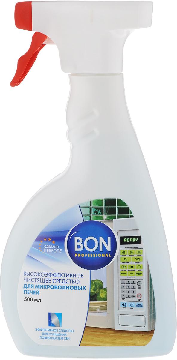 Средство для чистки микроволновой печи Bon, 500 мл средство для защиты и чистки стеклокерамики feed back 500 мл