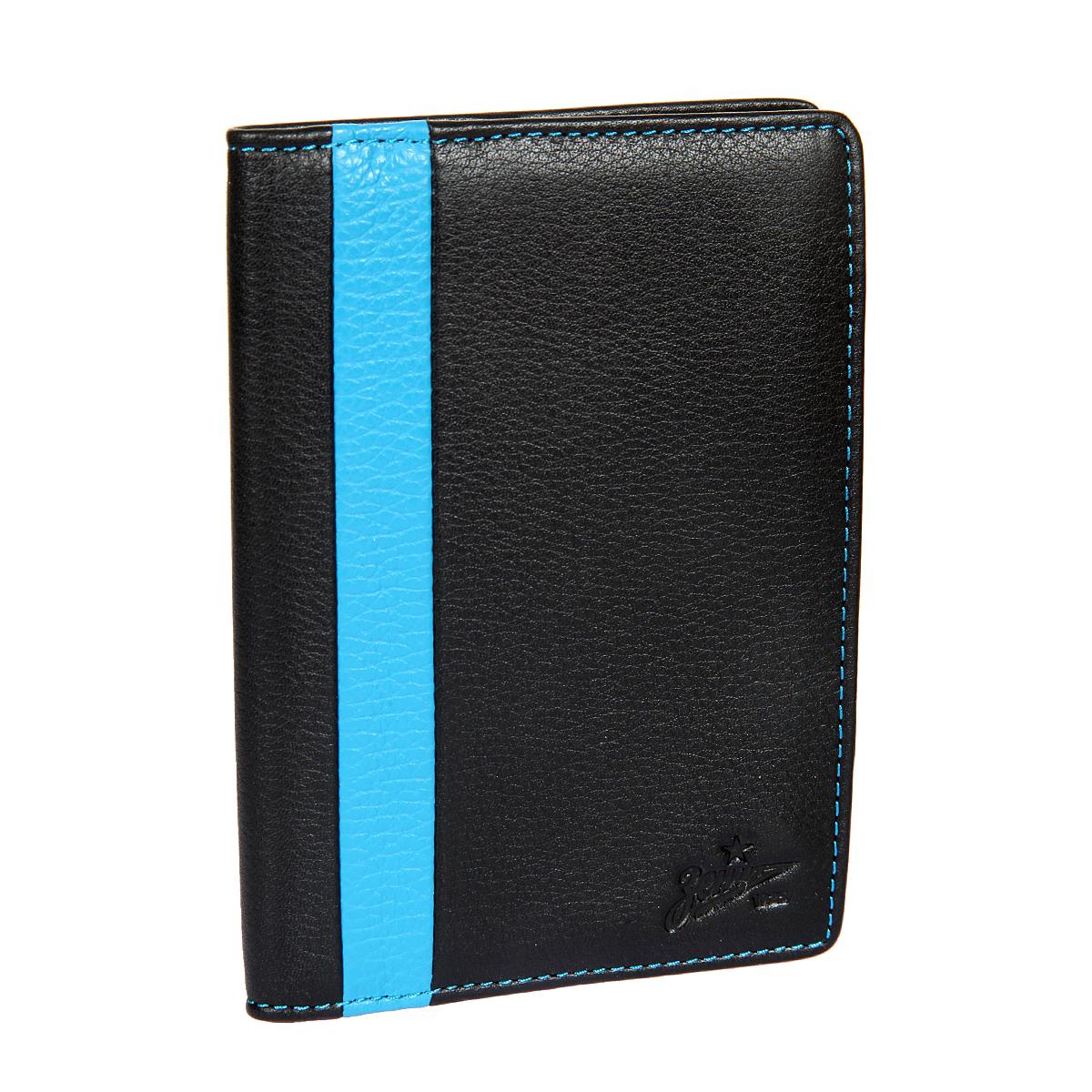 Обложка для автодокументов мужская Gianni Conti, цвет: черный. Z587492Z587492 black/blueРаскладывается пополам, внутри блок прозрачных файлов для автодокументов.