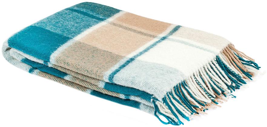 Плед Пиросмани, цвет: белый, бежевый, темно-зеленый, 140 х 200 см. 1-206-140_131-206-140_13Мягкий и приятный плед Пиросмани изготовлен из 100% новозеландской овечьей шерсти. Плед добавит комнате уюта и согреет в прохладные дни. Такое теплое украшение может стать отличным подарком друзьям и близким! Под шерстяным пледом вам никогда не станет жарко или холодно, он помогает поддерживать постоянную температуру тела. Шерсть обладает прекрасной воздухопроницаемостью, она поглощает и нейтрализует вредные вещества и славится своими целебными свойствами. Плед из шерсти станет лучшим лекарством для людей, страдающих ревматизмом, радикулитом, головными и мышечными болями, сердечно-сосудистыми заболеваниями и нарушениями кровообращения. Шерсть не электризуется. Она прочна, износостойка, долговечна. Наконец, шерсть просто приятна на ощупь, ее мягкость и фактура вызывают потрясающие тактильные ощущения!Пиросмани - коллекция пледов с кистями, уменьшенной плотности из 100% натуральной новозеландской овечьей шерсти. Характеристики:Материал: 100% новозеландская овечья шерсть. Цвет: белый, бежевый, темно-зеленый. Размер пледа: 140 см х 200 см. Размер упаковки: 48 см х 10 см х 37 см. Артикул: 1-206-140_13.