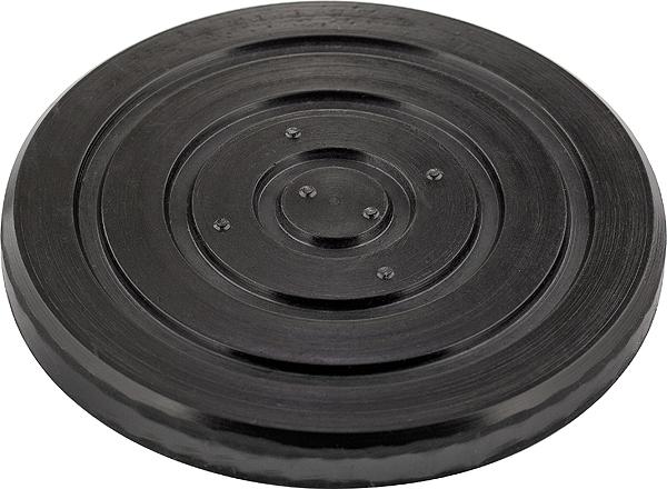 Опора для подкатного домкрата Matrix, диаметр 15,3 см50906Резиновая опора Matrix предназначена для установки на подъемные устройства автомобилей. Исключает повреждения автомобиля при подъеме. Подходит для подкатных домкратов различного типа. Верхний диаметр: 15,3 см. Нижний диаметр: 14 см. Высота подъема: 2,2 см.