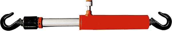 Цилиндр гидравлический Matrix, стяжной, с крючками513505Стяжной гидроцилиндр Matrix, выполненный из качественныхматериалов, предназначен для 10 тонного стягивания ирихтовки металлоконструкций, а также кузовов автомобилей.