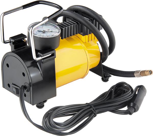Автомобильный компрессор Denzel DС-20, 12 В, 7 атм, 35 л/мин58054Подкачать колесо, быстро замерить и отрегулировать давление в шинах без посторонней помощи; все это возможно при помощи автомобильного компрессора DENZEL.Питание компрессора осуществляется от 12-вольтной розетки автомобильного прикуривателя. Производительность компрессора составляет 35 л/мин, максимально возможное сжатие воздуха 10 атм.