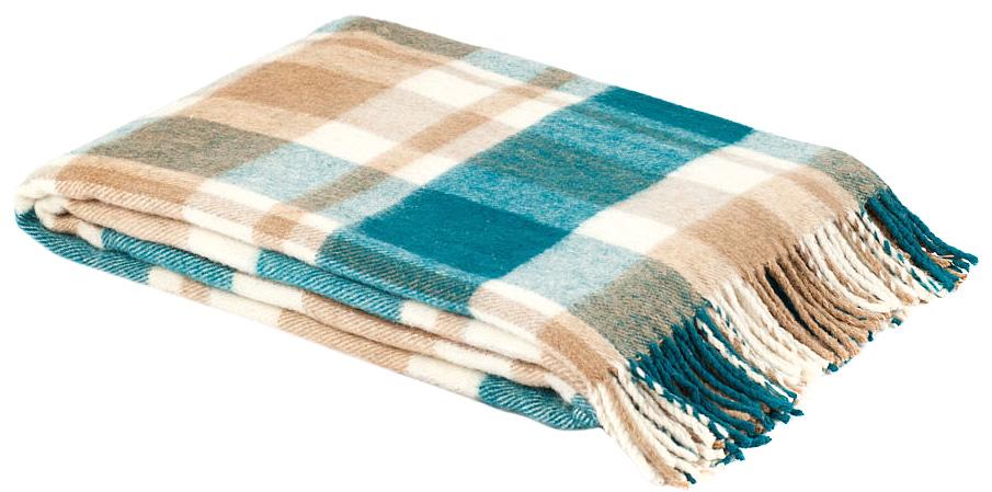 """Плед """"Страдивари"""", цвет: бирюзовый, белый, бежевый, 170 х 200 см. 1-203-170_03, Руно"""