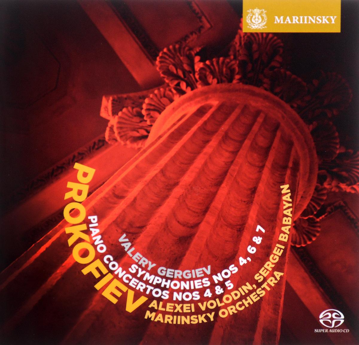 Valery Gergiev. Prokofiev. Symphonies 4, 6 & 7. Piano Concertos Nos  & 5 (2 CD)