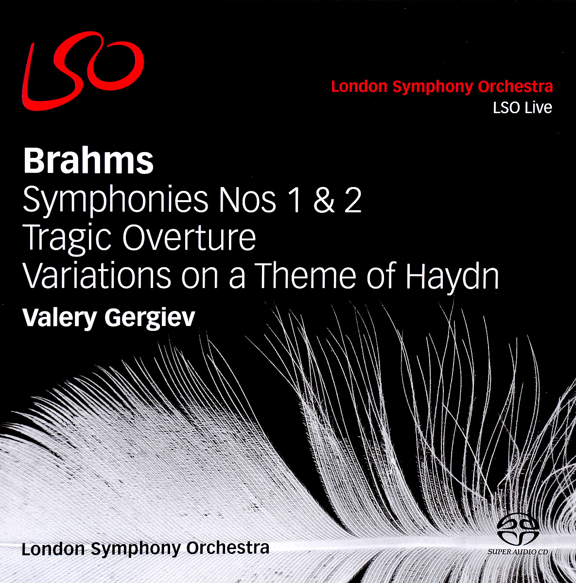 Фото - Valery Gergiev. Brahms. Sinfonien 1 & 2 / Tragische Ouverture. Variations On A Theme Haydn (2 CD) cafe london 2 cd