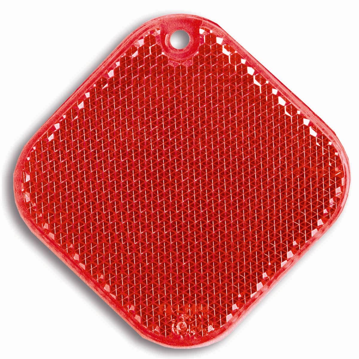 Светоотражатель пешеходный Coreflect Ромб, цвет: красный118705Пешеходный светоотражатель — это серьезное средство безопасности на дороге. Использование светоотражателей позволяет в десятки раз сократить количество ДТП с участием пешеходов в темное время суток. Светоотражатель крепится на одежду и обладает способностью к направленному отражению светового потока. Благодаря такому отражению, водитель может вовремя заметить пешехода в темноте, даже если он стоит или двигается по обочине. А значит, он успеет среагировать и избежит возможного столкновения. С 1 июля 2015 года ношение светоотражателей вне населенных пунктов является обязательным для пешеходов! Мы рекомендуем носить их и в городе! Для безопасности и сохранения жизни!