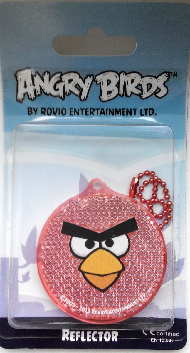 Светоотражатель пешеходный Coreflect Angry Birds Круг, цвет: красный123881Пешеходный светоотражатель — это серьезное средство безопасности на дороге. Использование светоотражателей позволяет в десятки раз сократить количество ДТП с участием пешеходов в темное время суток. Светоотражатель крепится на одежду и обладает способностью к направленному отражению светового потока. Благодаря такому отражению, водитель может вовремя заметить пешехода в темноте, даже если он стоит или двигается по обочине. А значит, он успеет среагировать и избежит возможного столкновения. С 1 июля 2015 года ношение светоотражателей вне населенных пунктов является обязательным для пешеходов! Мы рекомендуем носить их и в городе! Для безопасности и сохранения жизни!
