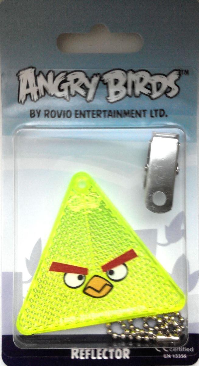 Светоотражатель пешеходный Coreflect Angry Birds Треугольник, цвет: желтый123882Пешеходный светоотражатель — это серьезное средство безопасности на дороге. Использование светоотражателей позволяет в десятки раз сократить количество ДТП с участием пешеходов в темное время суток. Светоотражатель крепится на одежду и обладает способностью к направленному отражению светового потока. Благодаря такому отражению, водитель может вовремя заметить пешехода в темноте, даже если он стоит или двигается по обочине. А значит, он успеет среагировать и избежит возможного столкновения. С 1 июля 2015 года ношение светоотражателей вне населенных пунктов является обязательным для пешеходов! Мы рекомендуем носить их и в городе! Для безопасности и сохранения жизни!