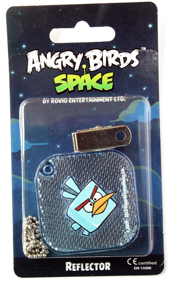 Светоотражатель пешеходный Coreflect Angry Birds Space Квадрат, цвет: синий123883Пешеходный светоотражатель - это серьезное средство безопасности на дороге. Использование светоотражателей позволяет в десятки раз сократить количество ДТП с участием пешеходов в темное время суток. Светоотражатель крепится на одежду и обладает способностью к направленному отражению светового потока. Благодаря такому отражению, водитель может вовремя заметить пешехода в темноте, даже если он стоит или двигается по обочине. А значит, он успеет среагировать и избежит возможного столкновения. С 1 июля 2015 года ношение светоотражателей вне населенных пунктов является обязательным для пешеходов! Мы рекомендуем носить их и в городе! Для безопасности и сохранения жизни!