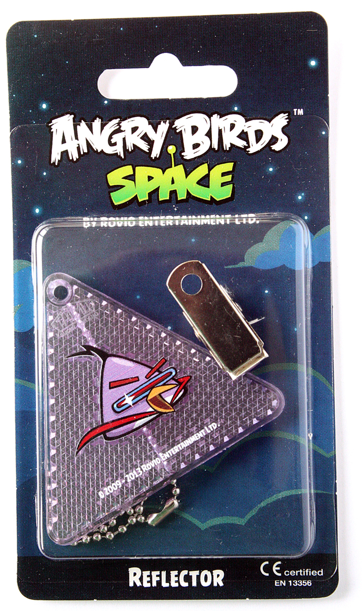 Светоотражатель пешеходный Coreflect Angry Birds Space Треугольник, цвет: фиолетовый123887Пешеходный светоотражатель — это серьезное средство безопасности на дороге. Использование светоотражателей позволяет в десятки раз сократить количество ДТП с участием пешеходов в темное время суток. Светоотражатель крепится на одежду и обладает способностью к направленному отражению светового потока. Благодаря такому отражению, водитель может вовремя заметить пешехода в темноте, даже если он стоит или двигается по обочине. А значит, он успеет среагировать и избежит возможного столкновения. С 1 июля 2015 года ношение светоотражателей вне населенных пунктов является обязательным для пешеходов! Мы рекомендуем носить их и в городе! Для безопасности и сохранения жизни!