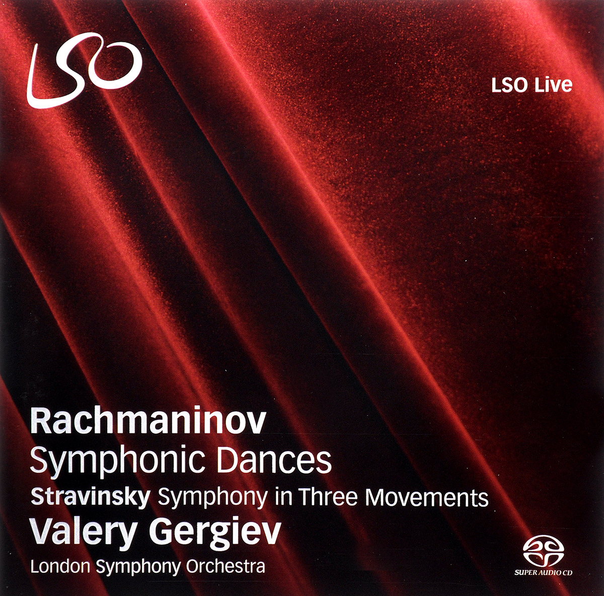 Valery Gergiev. Rachmaninov. Symphonic Dances / Strawinsky. Symphony in Three Movements