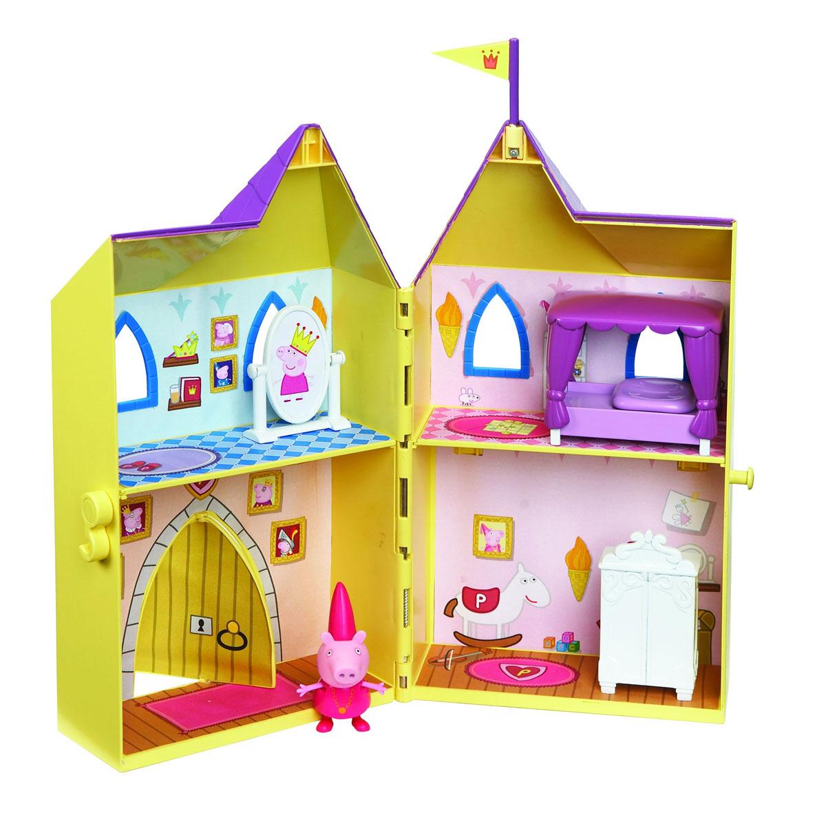 Peppa Pig Игровой набор Замок принцессы игровые наборы игруша набор замок принцессы на бат