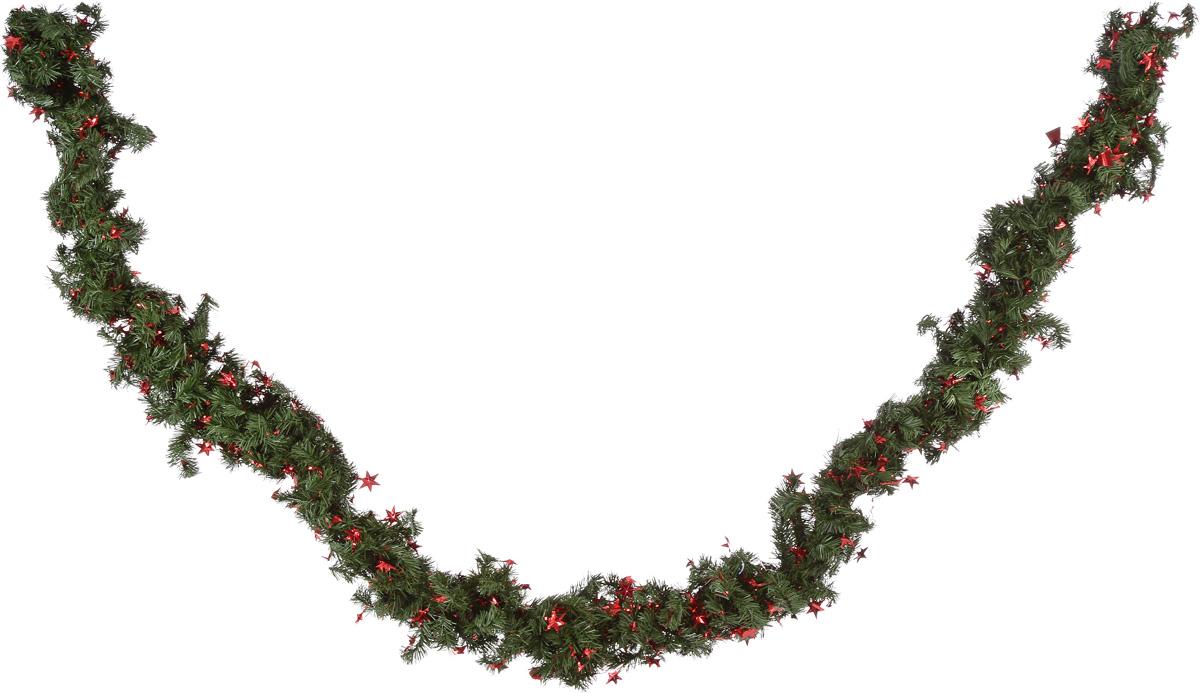 Гирлянда новогодняя Weiste, диаметр 25 см, длина 2,7 м6963Новогодняя гирлянда Weiste, выполненная из ПВХ и металла, украсит интерьер вашего дома или офиса в преддверии Нового года. Оригинальный дизайн и красочное исполнение создадут праздничное настроение. Новогодние украшения всегда несут в себе волшебство и красоту праздника. Создайте в своем доме атмосферу тепла, веселья и радости, украшая его всей семьей.