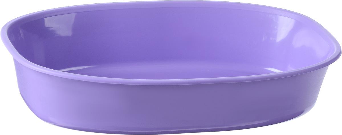 Туалет-лоток для животных MPS Gemini, цвет: сиреневый, 28 х 42 х 9 см магазин лоток