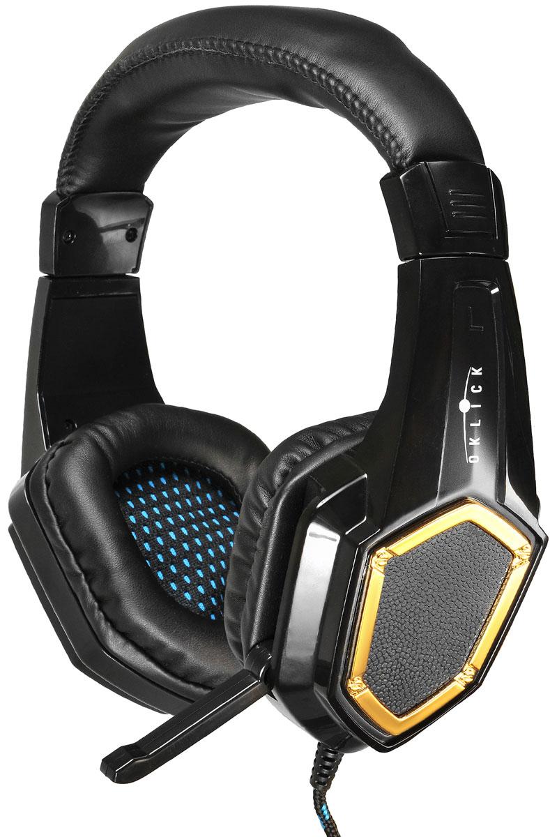 Oklick HS-L310G, Black игровые наушники цены онлайн