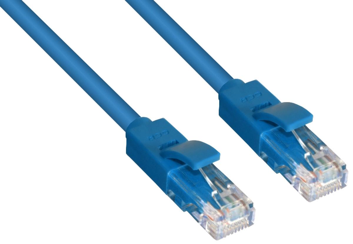 Greenconnect Russia GCR-LNC601, Blue патч-корд (0,3 м)GCR-LNC601-0.3mВысокотехнологичный современный патч-корд Greenconnect Russia GCR-LNC601 используется для подключения к интернету на высокой скорости. Подходит для подключения персональных компьютеров или ноутбуков, медиаплееров или игровых консолей PS4 / Xbox One, а также другой техники и устройств, у которых есть стандартный разъем подключения кабеля для интернета LAN RJ-45. Идеален в сочетании с 10, 100 и 1000 Base-T сетями.
