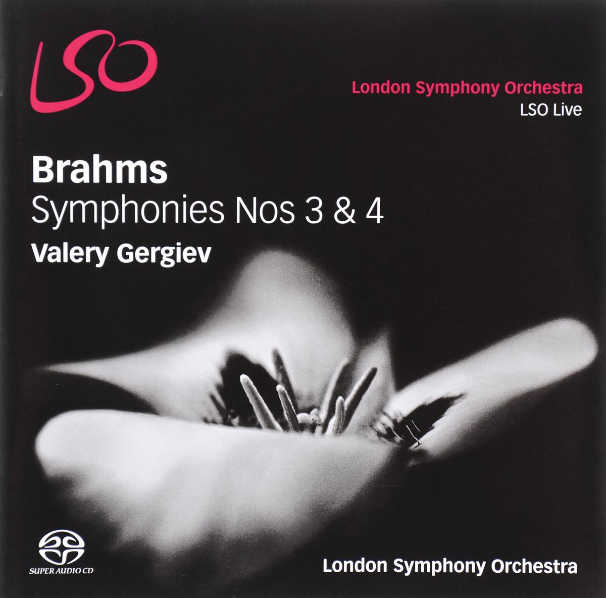 Фото Валерий Гергиев Valery Gergiev. Brahms. Symphonies Nos 3 & 4