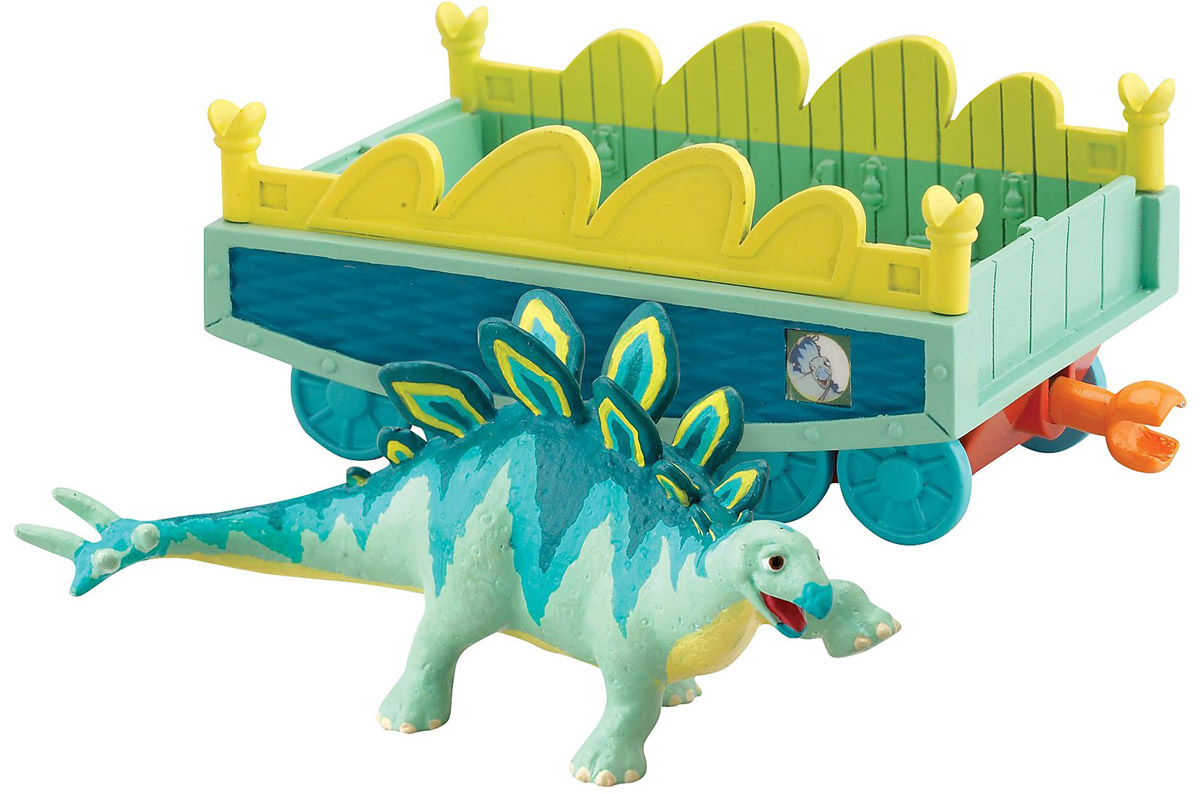 цена на Игровой набор Tomy Поезд Динозавров: Морис с вагончиком