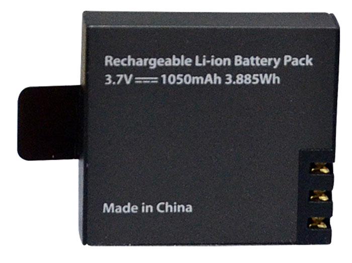 Eken BAT1050 аккумулятор литиевый для экшн-камерBAT1050Если вы запланировалидлительную фотосессию, но забыли зарядить камеру или действующая батарея разрядилась в самый важный момент, аккумулятор Eken BAT1050 тотчас же исправит ситуацию. Используйте его не только для замены, но и в качестве запасного. Создавайте насыщенные, яркие фото и видеокадры и будьте уверены, что в случае необходимости аккумулятор Eken BAT1050 продлит жизнь вашей камеры и выручит вас в любой ситуации.