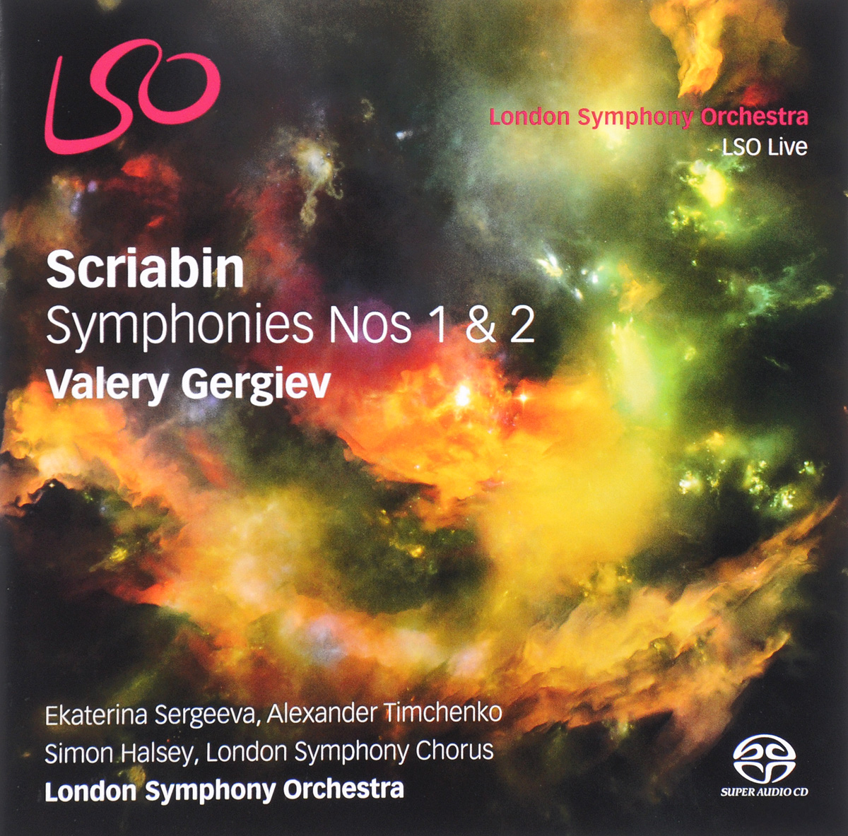 Zakazat.ru Valery Gergiev. Scriabin. Symphonies Nos.1 & 2 (2 CD)