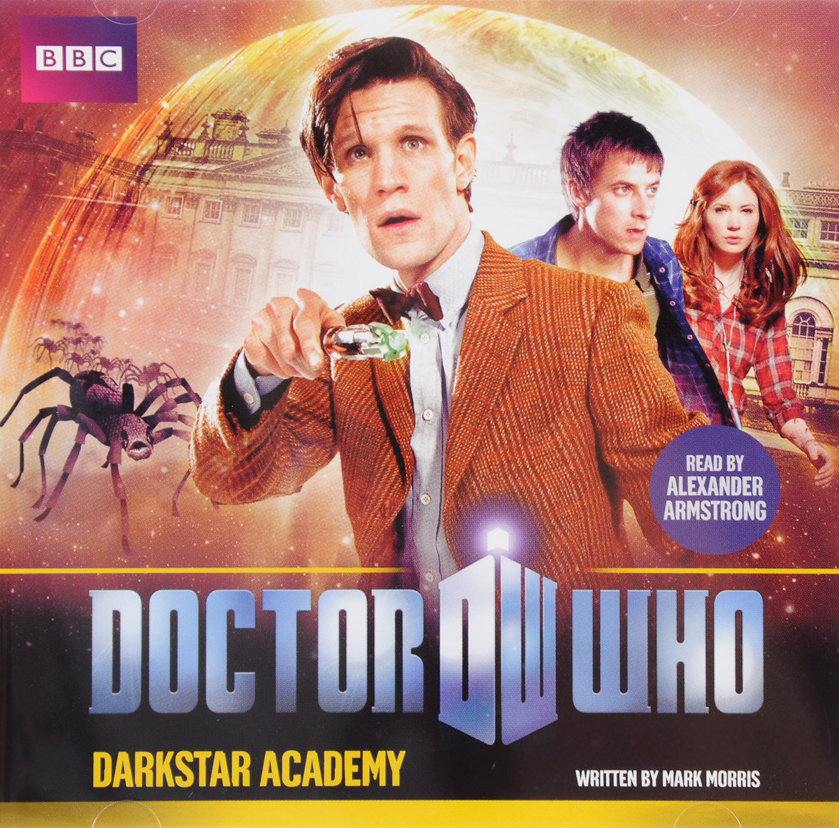 Doctor Who: Darkstar Academy (аудиокнига CD) larsson s the girl who played with fire