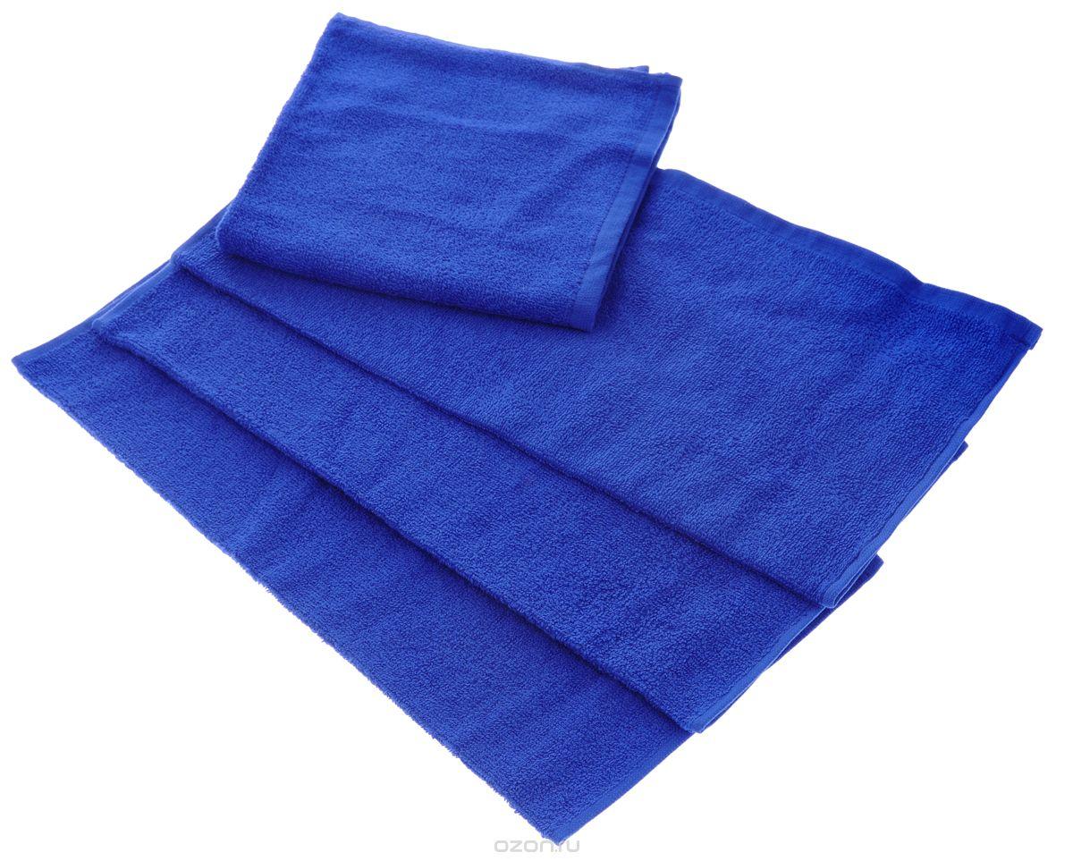 Полотенце Aisha Home Textile, цвет: синий, 50 х 90 см. УзТ-ПМ-112-08-19кУзТ-ПМ-112-08-19кМахровые полотенца AISHA Home Textile идеальное сочетание цены и качества. Полотенца упакованы в стильную подарочную коробку. В состав входит только натуральное волокно - хлопок. Лаконичные бордюры подойдут для любого интерьера ванной комнаты. Полотенца прекрасно впитывает влагу и быстро сохнут. При соблюдении рекомендаций по уходу не линяют и не теряют форму даже после многократных стирок. Плотность: 420 г/м2.