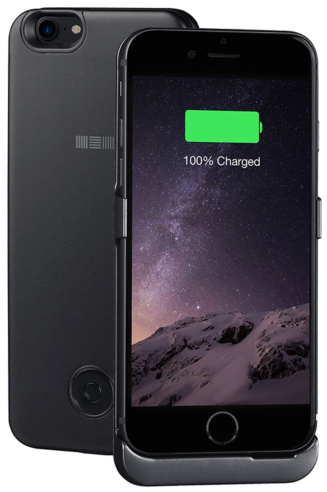 Interstep чехол-аккумулятор для Apple iPhone 7, Black (3000 мАч)